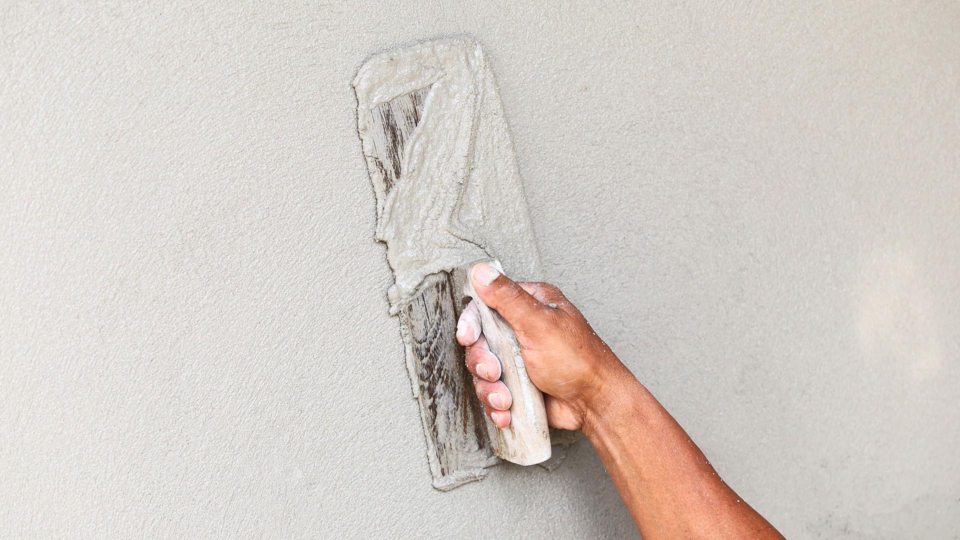 Песок на стене своими руками