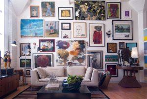 Идеи как украсить стену картиной