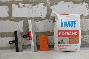 Материал для штукатурки стен