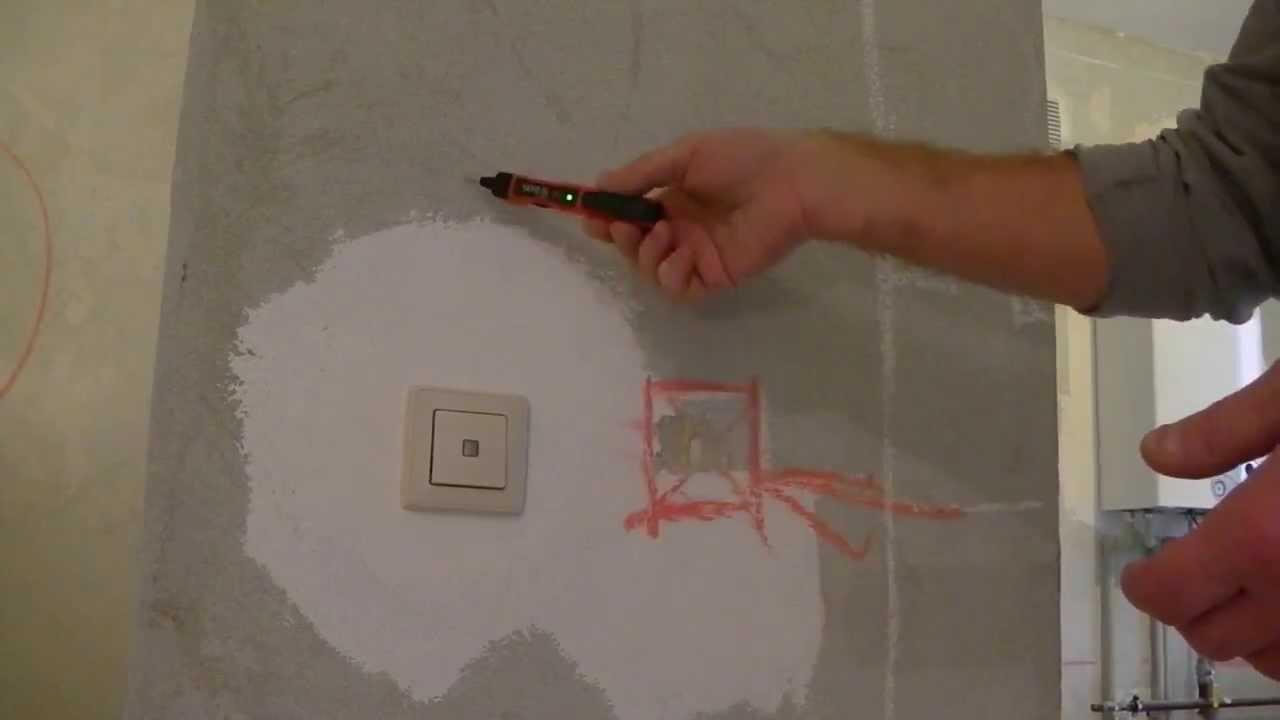 Чем прозвонить проводку в стене