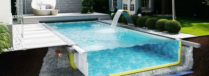 Геоткань незаменима для сооружения бассейнов