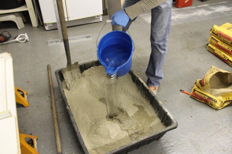 как правильно сделать раствор бетона